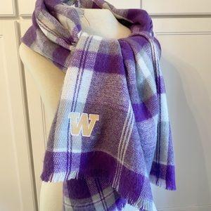 Washington Husky | Purple Plaid Scarf
